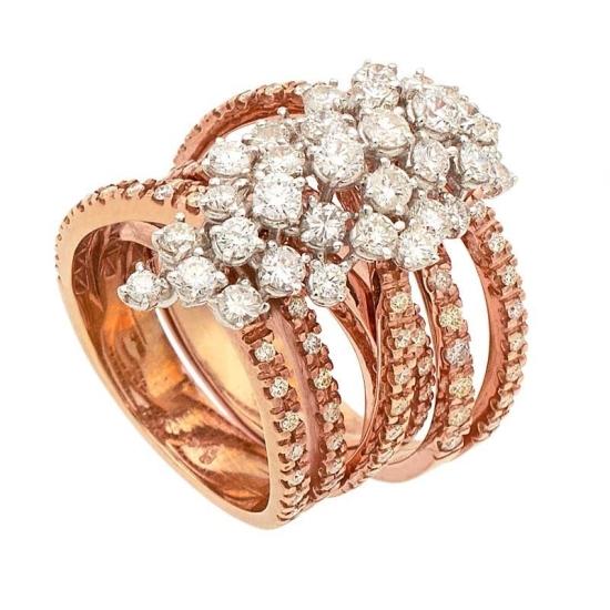 Soltija multiaro con diamantes - 1