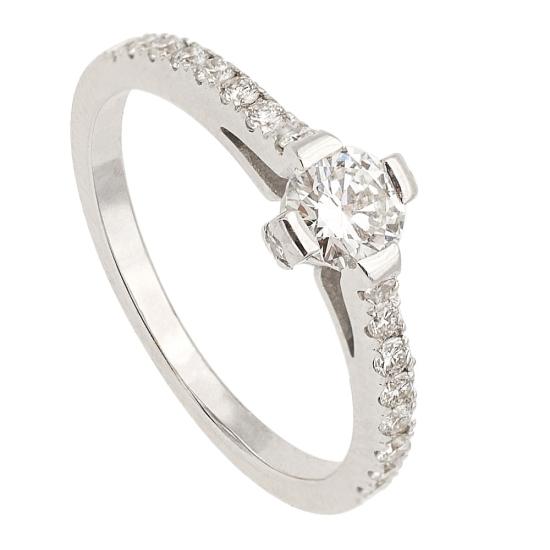 Media alianza con diamantes - 1128 - 1